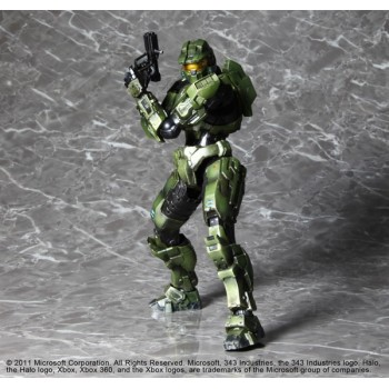 Halo Combat Evolved 10th Anniversary Play Arts Kai Vol. 1 Action Figure Master Chief 23 cm
